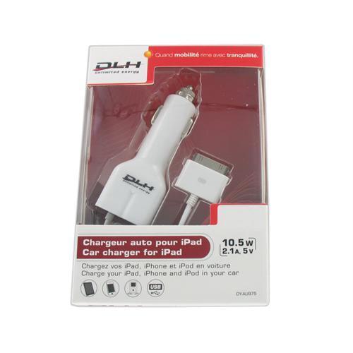 DLH adaptateur d\'alimentation - voiture / USB