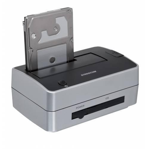 Freecom Hard Drive Dock Pro - station d\'accueil HDD - ATA / SATA 3Gb/s - USB 2.0