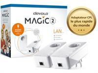 devolo Magic 2 LAN - Starter Kit - pont - Branchement mural