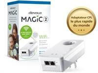 devolo Magic 2 WiFi - pont - 802.11a/b/g/n/ac - Branchement mural