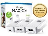 devolo Magic 2 WiFi - Multiroom Kit - pont - 802.11a/b/g/n/ac - Branchement mural