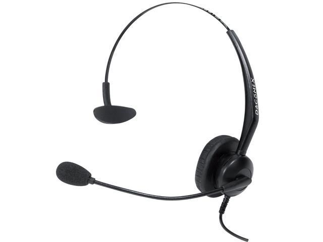 DACOMEX casque téléphone micro Flex antibruit - 1 écouteur