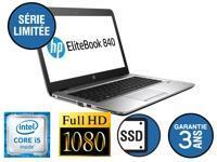 HP EliteBook 840 - Core i5 - 8Go - SSD 256 Go - Dockable