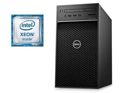 Dell Precision 3630 MT - Xeon E2124G - 16Go - 256Go SSD + 1To HDD - Quadro P2000 (5Go) - 1 an Pro Support