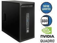 HP Z238 MT / i5-7500 / 8Go / 256Go / Quadro K620 / W10 Pro