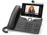 Cisco IP Phone 8865 - visiophone IP - appareil photo numérique, interface Bluetooth