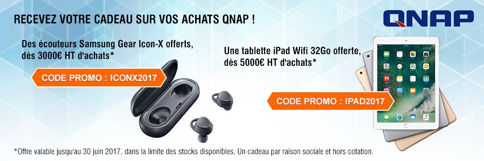 Recevez un cadeau grâce à vos achats QNAP !