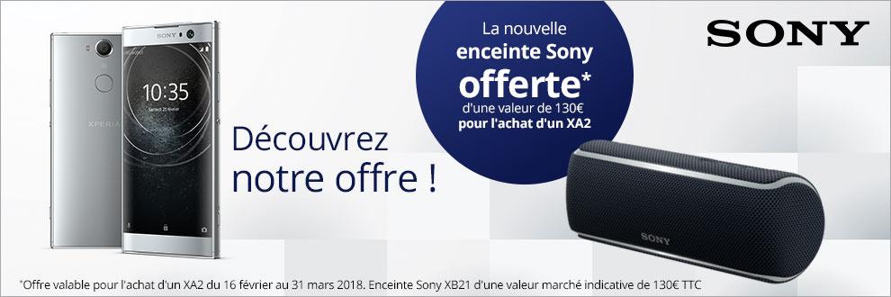 Une enceinte Sony XB21 Offerte !