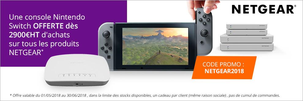 Votre console Nintendo Switch offerte !