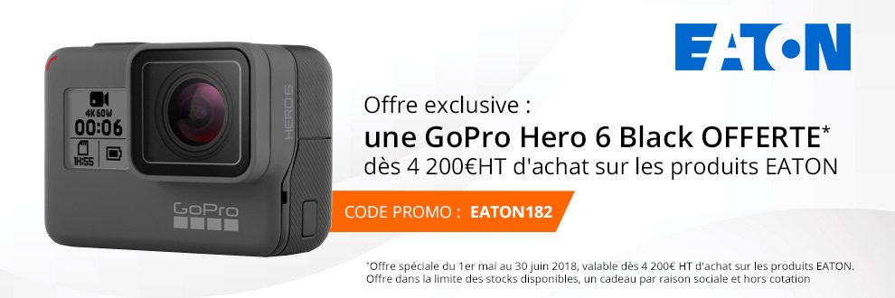 Votre GoPro Hero 6 Black OFFERTE !
