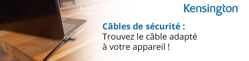 configurateur cables kensington