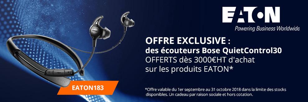 Des écouteurs Bose QuietControl30 OFFERTS