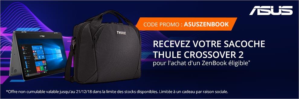 Asus vous offre votre sacoche Thule Crossover 2* !