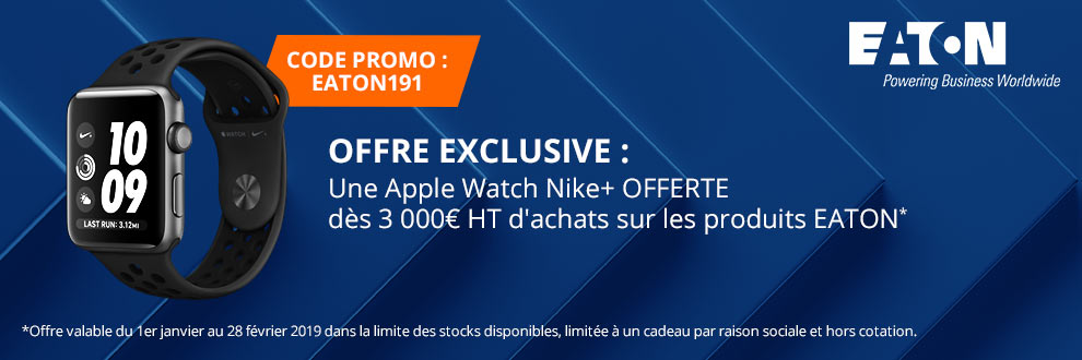 Une Apple Watch Nike+ OFFERTE !