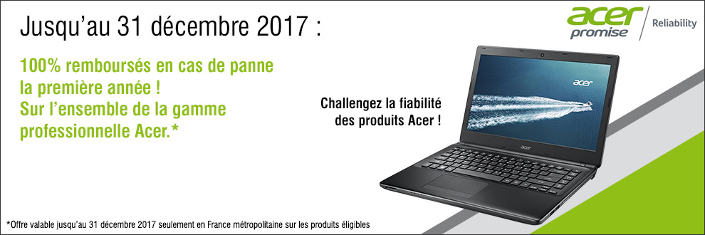 Acer reliability promise