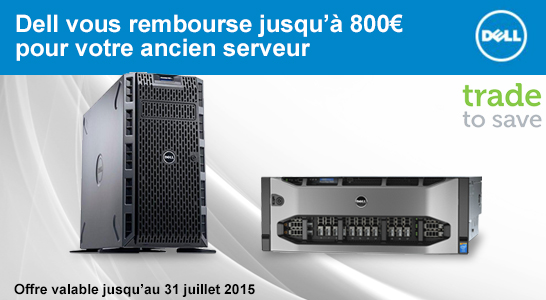 ODR Dell Trade to Save Serveurs