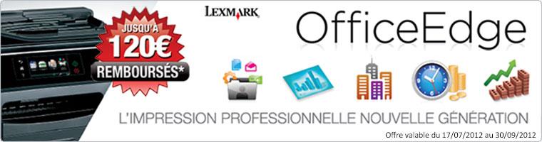 Remboursement Lexmark office edge