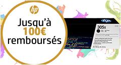 Une affaire en or ! HP vous rembourse jusqu'à 100€