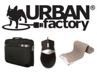 "Urban Factory TopLight Toploading Laptop Bag 13.3""/14.1"" Black sacoche pour ordinateur portable"