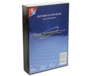 Boitier Dvd Slim Noir 1 Dvd Pack 5