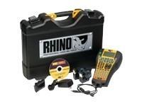 Kit mallette rigide RHINO 6000 ABC 24 mm'' conçu pour les distributeurs datacom électriques - comporte l'imprimante RHINO 6000