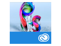 Adobe Photoshop CC for Enterprise - Nouvel abonnement de licence d'entreprise (mensuel) - 1 utilisateur