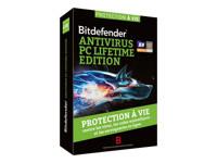BitDefender Antivirus PC Lifetime Edition - version boîte - 1 PC