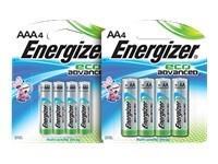 Energizer EcoAdvanced XR91 - batterie - type AA - Alcaline x 8