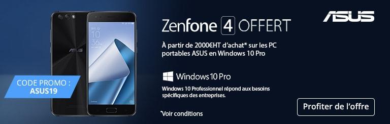 Un smartphone Zenfone 4 Offert