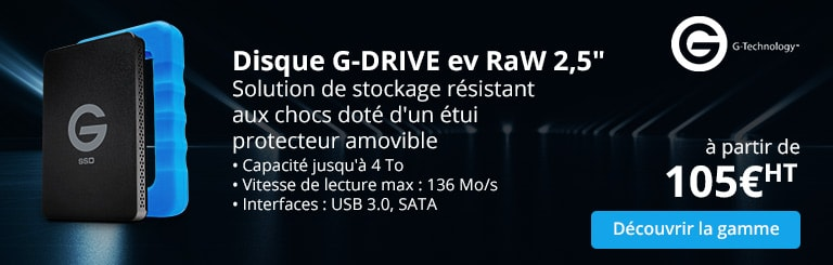 Disque G-DRIVE evRaW 2,5