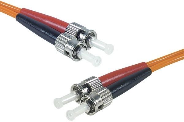Cordon Fibre Optique Om2  St/St 50/125 - 2.00 M