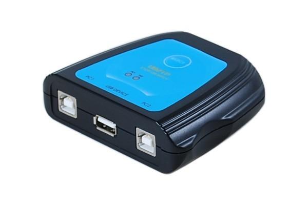 Switch Usb 2.0 Pour 1 Imprimante - 2 Ordinateurs Pc/Mac