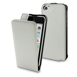 Muvit - étui clapet slim - iPhone 5C - blanc