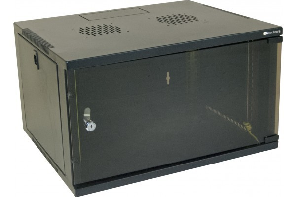 "Coffret 19"" Eco 15U Noir Prof 450 Mm"