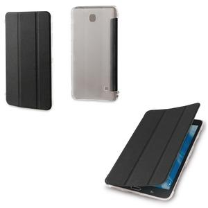 "Muvit - étui smart stand noir scintillant - Samsung Galaxy Tab 4 7"""