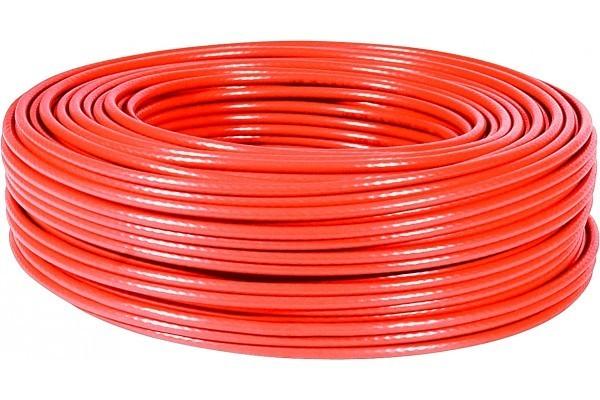Cable Multibrins F/Utp Cat5E Rouge - 100M