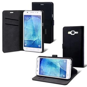 Muvit - étui slim S folio noir - Samsung Galaxy J5