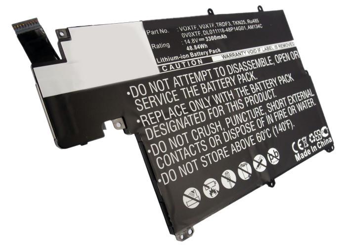 DLH - Batterie pour PC portables DELL Inspiron 13z (5323) / Inspiron 5323 / Vostro 3360 / Vostro V3360 - 3300mAh-49Wh