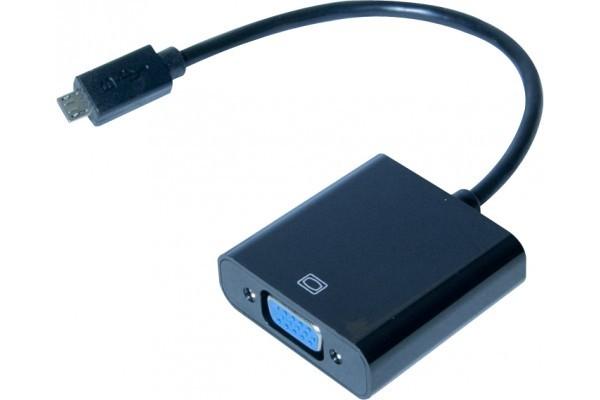 Convertisseur MHL vers VGA pour Smartphone