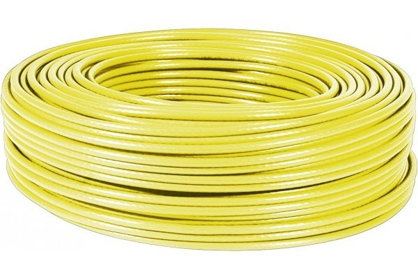 Dexlan cable multibrin s/ftp CAT6 jaune - 100M