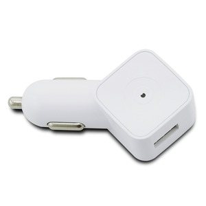 Muvit - spring chargeur voiture 1USB 1a blanc