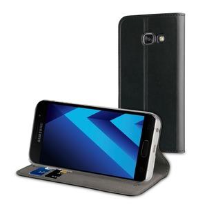 Etui folio stand noir pour Samsung Galaxy A3 2017