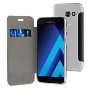 Muvit - étui folio case noir - Samsung Galaxy A5 2017
