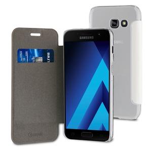 Etui folio case blanc pour Samsung Galaxy A5 2017