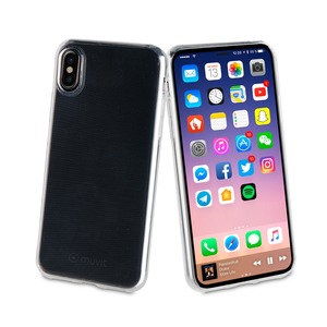 MUVIT COQUE CRYSTAL SOFT POUR APPLE IPHONE X