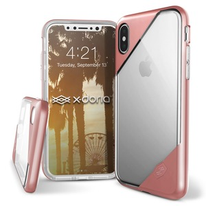 XDORIA COQUE REVEL LUX CLEAR ROSE GOLD POUR IPHONE 8 _