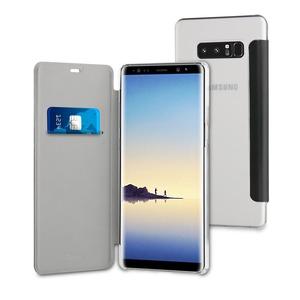 Etui Folio Case Noir Pour Samsung Galaxy Note 8