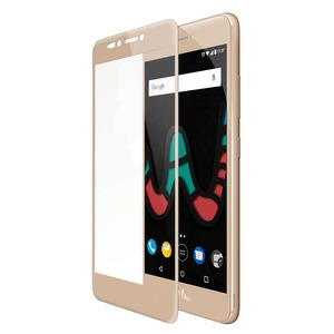 WIKO TEMPERED GLASS CONTOUR GOLD POUR U'PULSE LITE_