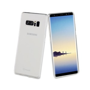 MUVIT COQUE CRYSTAL SOFT TRANSPARENTE POUR SAMSUNG GALAXY NOTE 8_
