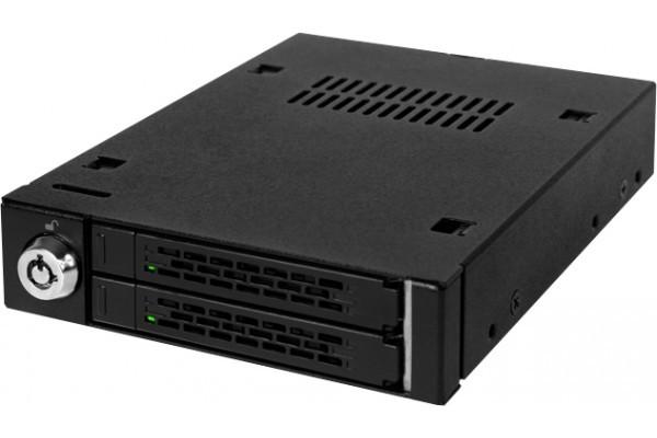 ICY DOCK Rack amovible MB992SK-B 2 disques SATA 2.5